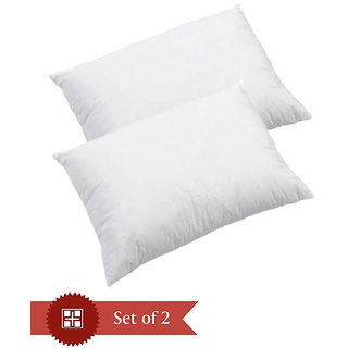 Homefab India`s Set of 2 Soft Comfortable Pillow Fillers