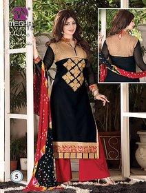 lubhani overseas black cambric cotton suit