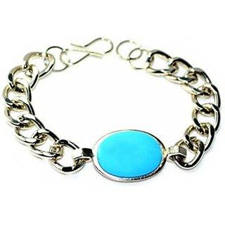 Silver Turquoise Salman Khan Inspired Bracelet Good Luck Charm Bracelet