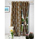 Muskaan Eyelet Premium Eyelet Curtains - Maroon (MTCD 0039)