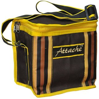 Attache Brown Lunch Bag