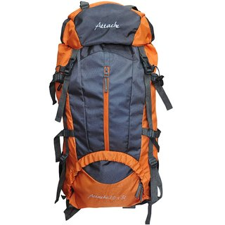 Attache 70-80 L Polyester Orange Rucksack