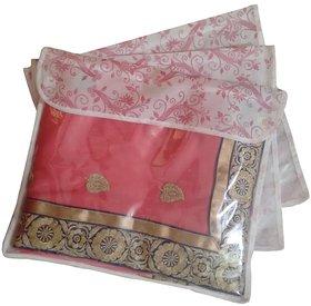 Fashion Bizz Saree Cover Pack Of 3-Multicolour