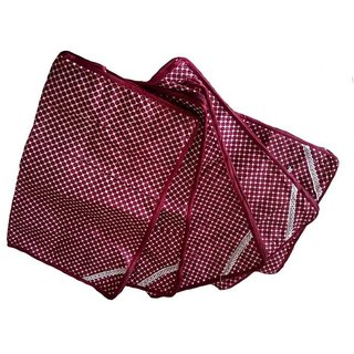 Fashion Bizz Saree Cover Pack Of 5-Maroon