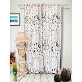 Muskaan Eyelet Jmt Eyelet Curtains - Cream (MTCW 0187)