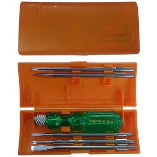 taparia combination screwdriver set pack of 5 buy taparia combination screwdriver set pack of. Black Bedroom Furniture Sets. Home Design Ideas