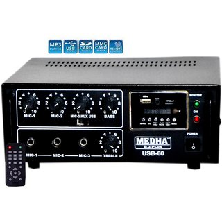 Medha 60 W DJ Sound Power Amplifier
