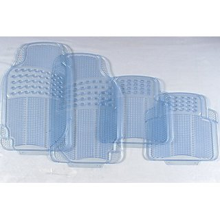 Foot Mats for Toyota Etios Liva- Transparent Mat+ Warranty