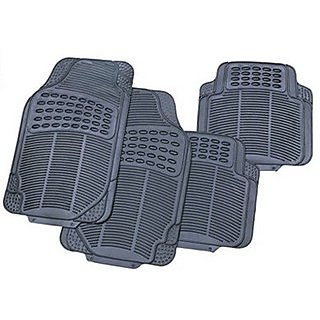 Grey Colour Rubber Foot Mat for Car Floor Universal Size
