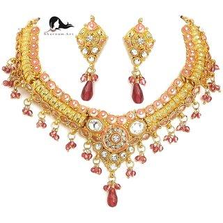 Buy Sharnam Art Jewellery Necklace