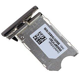 Nokia X7 X-7 X 7 SIM Card Holder Sim Tray Sim Trey X7 X-7 Sim Tray Trey Silver