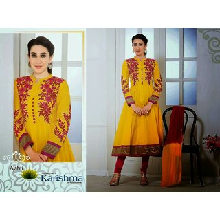 Semi Stitched Umbrella cut Anarkali Salwars