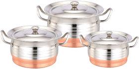 Klassic Vimal 6Pcs Dts Beauty Copper Bottom Dish Set