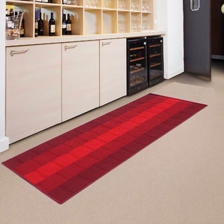Status Brown Polyproplene Rugs ( 22X55 Inch)