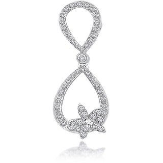Hsk 9K Gold IGI Certified Infinity Star Real Diamond Pendant