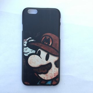 Imported Quality iPhone 6 Hard Case  Mario