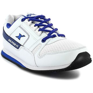 Sparx Stylish White Shoes For Men