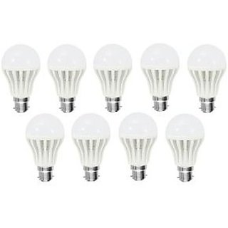 7 Watt Led Bulb Set Of 10 Bulbs