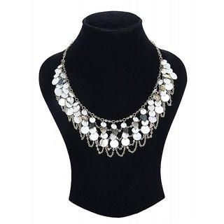 Zurii Goldern Spiral Shell Designer Necklace