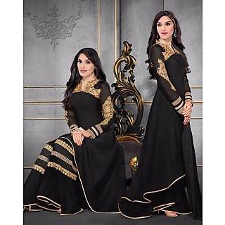new designer karishma black plazzo suit