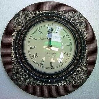 Home Decore Handicrafts Wall Clock WITH MATELIC FINISH