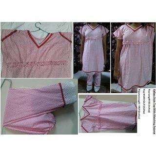 Kaftan Style Top With Maching Pajamas