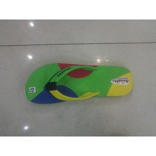 Women's Flat Slippers (Green)