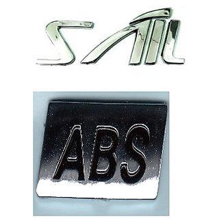 SAIL MONOGRAM EMBLEM CHEVORLET SAIL  MONOGRAM with ABS