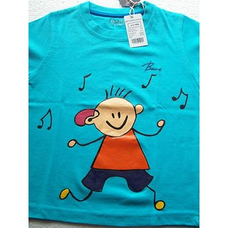 Eclectica Exclusive Hand Fabric Tees For Boys