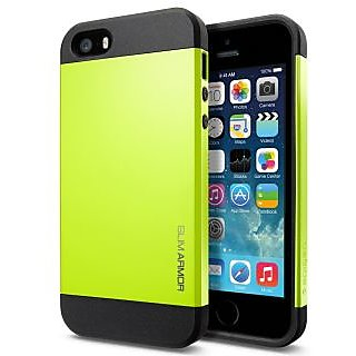 WOW Slim Armor Hybrid iPhone 4/4S Case - Lemon Yellow