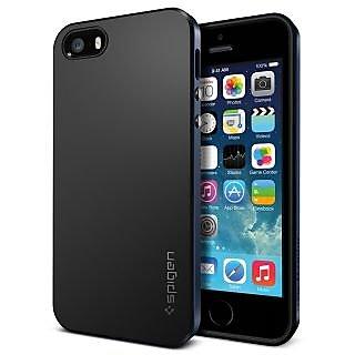 Spigen Neo Hybrid iPhone 4/4S Case - Navy Blue