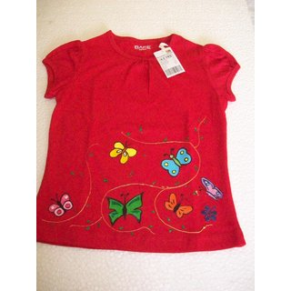 Eclectica Exclusive Hand Fabric Tees For Girls