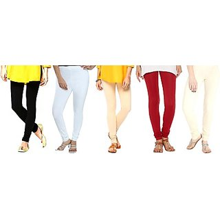 FASHION FOR FEATURE LEGGING COMBO OFFER OF 5