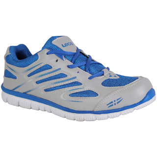Leco Men's Gray Running Shoes
