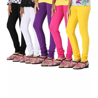 Onlineshoppee 5 Pc Stylish Legging Combo