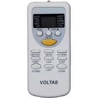 Indiashopers Isvlts Compatible For Voltas Ac Remote Controller