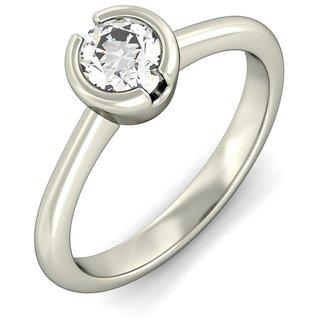 Amogh Jewels Brilliant Round Diamond Ring
