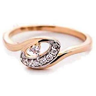 Bling Diamond Accessories Daily Wear Superb Oval Shape Diamond Ring Hand Made With Real Gold And Diamonds Bgr060