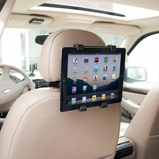 Mobilegear Universal Car Back Seat Mount Tablet Holder with 360 degree Rotation