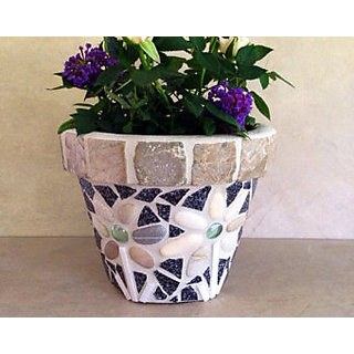 Hand made flower pot