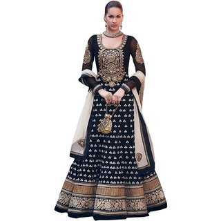 self disign bollywood dress material embrodary work .party wear collection,
