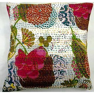 5 pec set Kantha pillows Cover