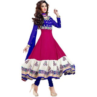 self disign bollywood dress material embrodary work .party wear collection