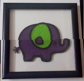 paper quilled wall frame
