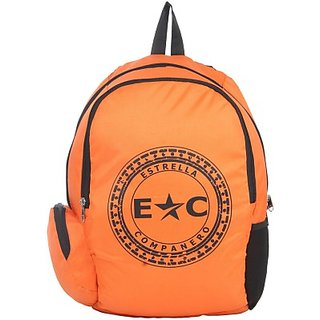 Estrella Companero Ec School 30 L Large Backpack (Orange-5675567, Size - 450)