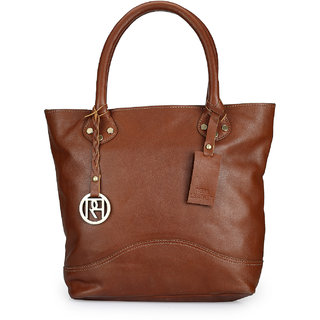 Phive Rivers Women Leather Tote Bag-PR972