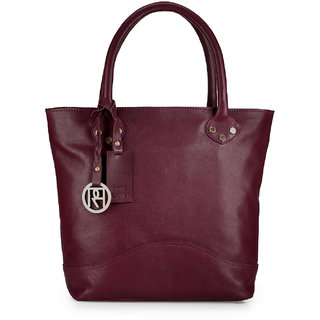 Phive Rivers Women Leather Tote Bag-PR973