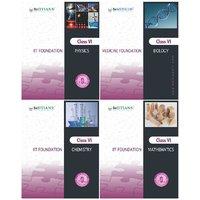 IIT/Medicine Foundation Series-Class VI (4 books) Maths, Physics, Chemistry&Bio