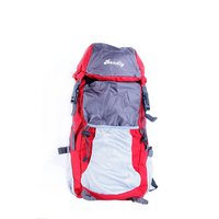 Bendly Red Foldable Outdoor Backpack
