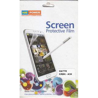 KMS HIE POWER MATTE Screen Protector For Karbonn A30
